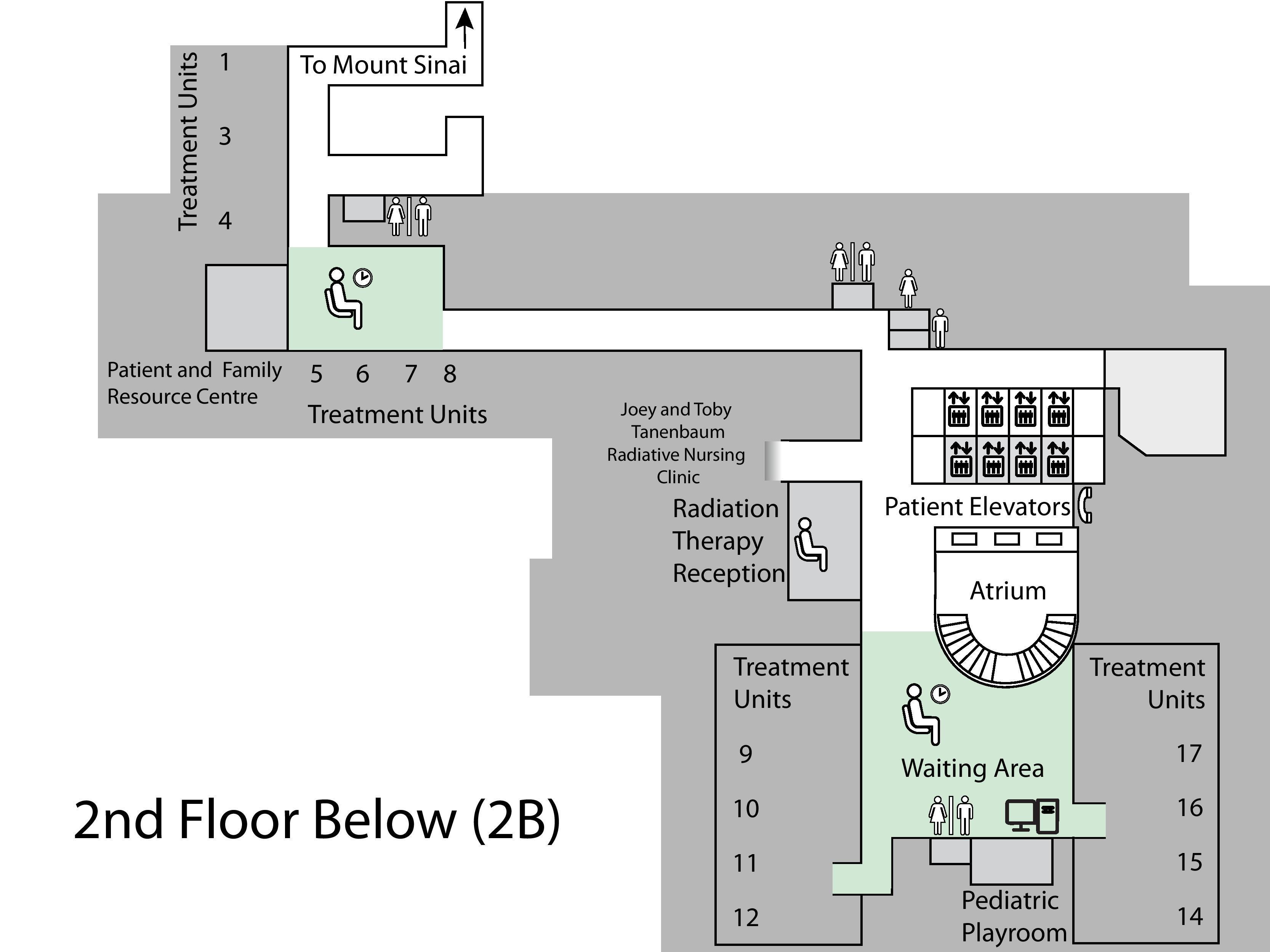 Princess margaret cancer centre toronto lantai 2 di bawah ini b2 peta dari princess margaret cancer centre toronto lantai 2 di bawah ini b2 ccuart Gallery